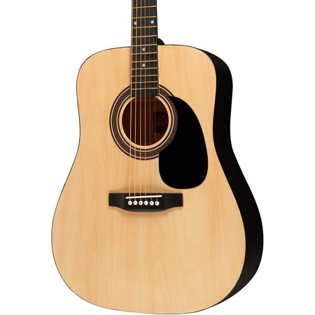String Natural Finish Dreadnought Guitar (Rogue RA-090 Dreadnought Acoustic Guitar Natural )