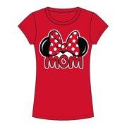 53319aa1c Disney Junior Minnie Mom Family - Red - Large Fashion Tee
