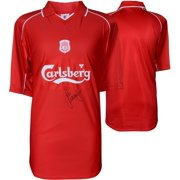 32a0ed8b3 Jamie Carragher Liverpool Autographed Red 2001-2002 Jersey - ICONS -  Fanatics Authentic Certified