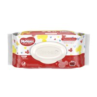 Huggies Baby Wipes Simply Clean Fragrance-Free Soft Pack, 5 packs of 64 Ct (320 count)