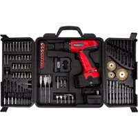 Stalwart 18-Volt Cordless Drill, With 89-Piece Drill Set, 75-CD91