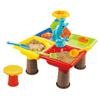Sand and Water Activity Table Set 25pcs w/dolphin Ideal for beach this summer!