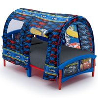 Disney Pixar Cars Plastic Toddler Bed with Tent by Delta Children