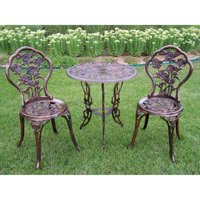 Oakland Living Rose Patio Bistro Set