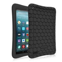 Fintie Silicone Case for All-New Amazon Fire 7 Tablet (7th Gen, 2017 Release) - [Kids Friendly] Anti Slip Cover
