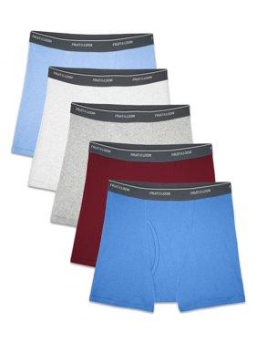 Assorted Cotton Boxer Briefs, 5 Pack (Little Boys & Big Boys)