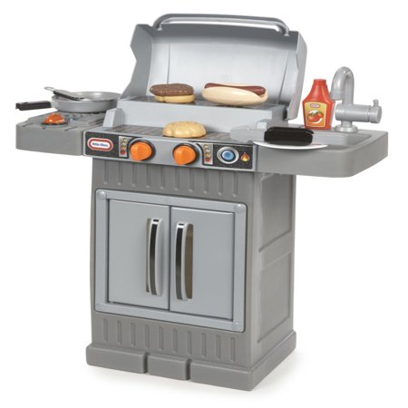 Little Tikes Cook 'n Grow BBQ Grill with Cooking Accessories and Food (little tikes kitchen and grill)