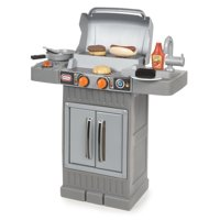 Little Tikes Cook 'n Grow BBQ Grill with Cooking Accessories and Food