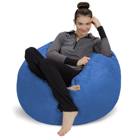 Sofa Sack 3' Passion Suede Bean Bag Chair, Multiple