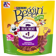 Purina Beggin' Dog Treats; Littles Bacon Flavor - 25 oz. Pouch