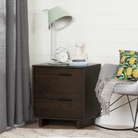 South Shore Fynn 2-Drawer Nightstand, Multiple Finishes