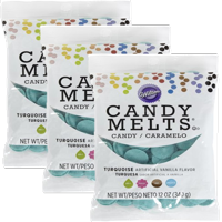 Wilton Turquoise Candy Melts Candy, 12 oz.