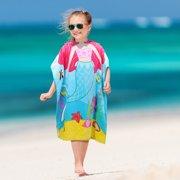 093c5d5baad7b Hooded Bath Towel for 2 to 6 Years Girl