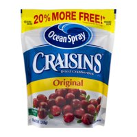 (3 Pack) Ocean Spray Craisins Original Dried Cranberries - 12 Oz Resealable Bag