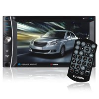 "XO Vision XOD1752BT 6.2"" Touch Screen In-Dash DVD Receiver"