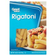 (4 pack) Great Value Rigatoni, 16 oz
