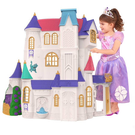 Disney Sofia the First Enchancian Castle (Dollhouse Dream Castle)