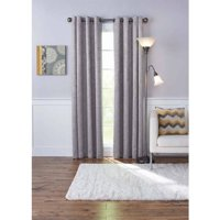 Better Homes and Gardens Embossed Damask Blackout Grommet Curtain Panel