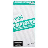 Funemployed Interview Card Game of Actual Jobs & Absurd Qualifications