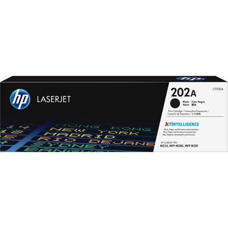 HP, HEWCF500A, 202A Black Original LaserJet Toner Cartridge, 1
