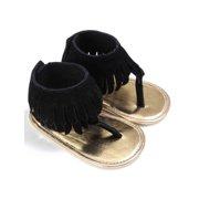 930f95448 ZEFINE Baby Girl Summer Tassel Sandal Anti-slip Flip Flop Shoes 0-18M