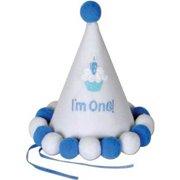 Beistle 60244 Babys 1st Birthday Cone Hat 6 1 2 Inch
