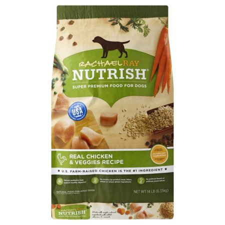 Recipe Natural (Rachael Ray Nutrish Natural Dry Dog Food, Real Chicken & Veggies Recipe, 14)
