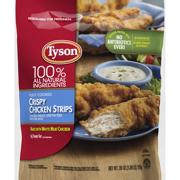 Tyson® Fully Cooked Crispy Frozen Chicken Strips, 25 oz.