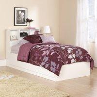 Mainstays Kids' Twin Storage Bed, Soft White
