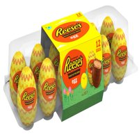 Reese's, Easter Peanut Butter Creme Eggs Candy, 12 Count, 14.4 Oz