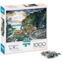 Buffalo™ Charles Wysocki™ Moonlight & Roses™ Puzzle 1000 pc Box