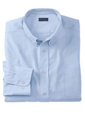 Ks Signature Men's Big & Tall Wrinkle-resistant Oxford Dress Shirt