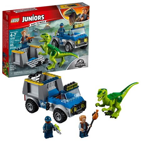 LEGO Juniors Raptor Rescue Truck 10757 (85 Pieces)](Lego City Halloween Rescue)