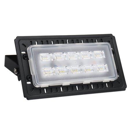 50w 76led Flood Light Ip65 Waterproof Outdoor Security Lights Floodlight Landscape Wall Spot Lamp 5000lm Super Bright 1 2 4pcs