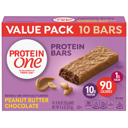 Protein One 90 Calorie Peanut Butter Chocolate 10 ct, 9.6 (Best Low Calorie Foods)
