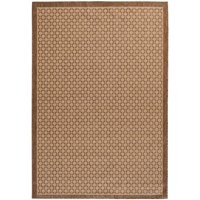 Mainstays Tan Rotoura Indoor/Outdoor Area Rug, Multiple Sizes