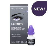 LUMIFY Redness Reliever Eye Drops, 0.08 FL OZ (2.5mL)