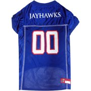 Pets First College Kansas Jayhawks Collegiate Dog Jersey f5739ef89