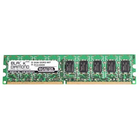 2GB RAM Memory for IBM System X Series x3200 4362 240pin PC2-5300 DDR2 UDIMM 667MHz Black Diamond Memory Module Upgrade