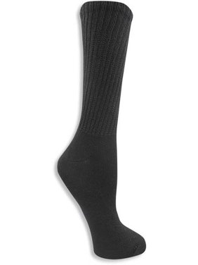 Women's Relaxed Fit Crew Socks 4 Pack