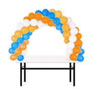 a8fa301d2fc BalsaCircle White 12 feet Balloon Arch Stand Kit - Wedding Event Graduation Party  Decorations Supplies