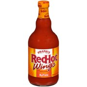 Frank's RedHot Buffalo Wings Sauce (Wing Marinade), 23 fl oz
