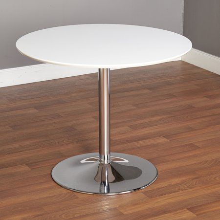 Oval Clear Glass Dining Table (TMS Pisa Dining Table, Multiple Finishes )