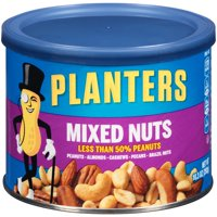 (4 Pack) Planters Mixed Nuts, 10.3 oz Canister