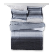 Mainstays Ombre Grey Bed in a Bag Bedding Set, Queen