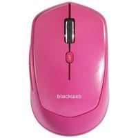 BlackWeb 6-Button Wireless Mouse, Black