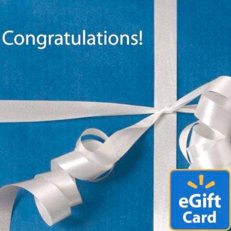 Congratulations Walmart eGift Card](Chase Via)