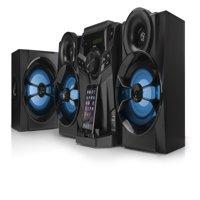 Blackweb 1000-Watt Hifi Bluetooth Stereo With Cd Player & Fm Radio
