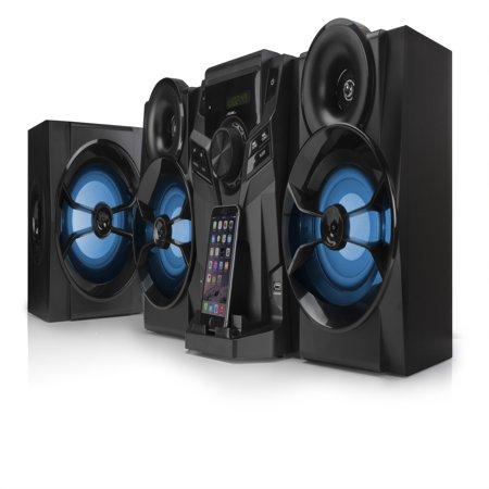 Blackweb 1000-Watt Hifi Bluetooth Stereo With Cd Player \u0026 Fm Radio - Walmart.com