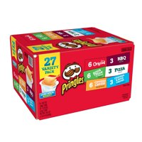 Pringles The Original, Sour Cream & Onion, Cheddar Cheese Potato Crisps Chips Variety Pack 27 ct